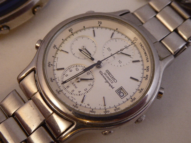 Sell Seiko chronograph watch
