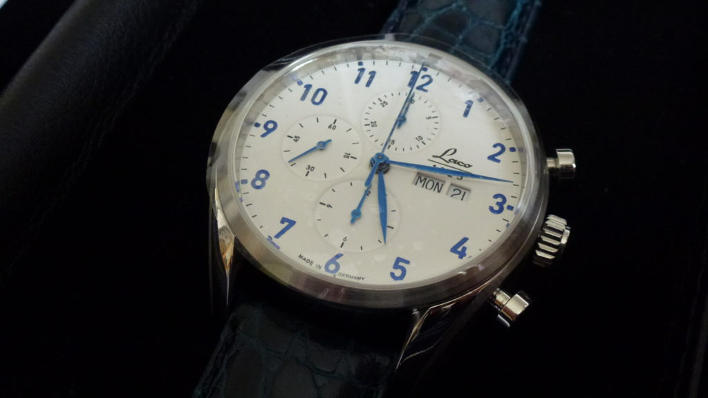 Sell-used-Laco-chronograph-watch