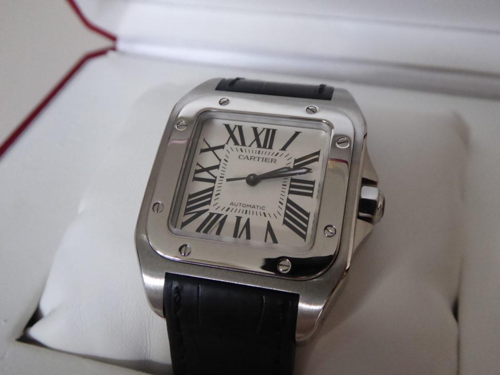 sell-my-cartier-santos-100-watch
