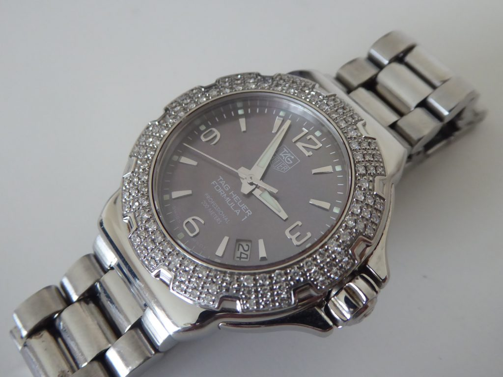 sell tag f1 watch