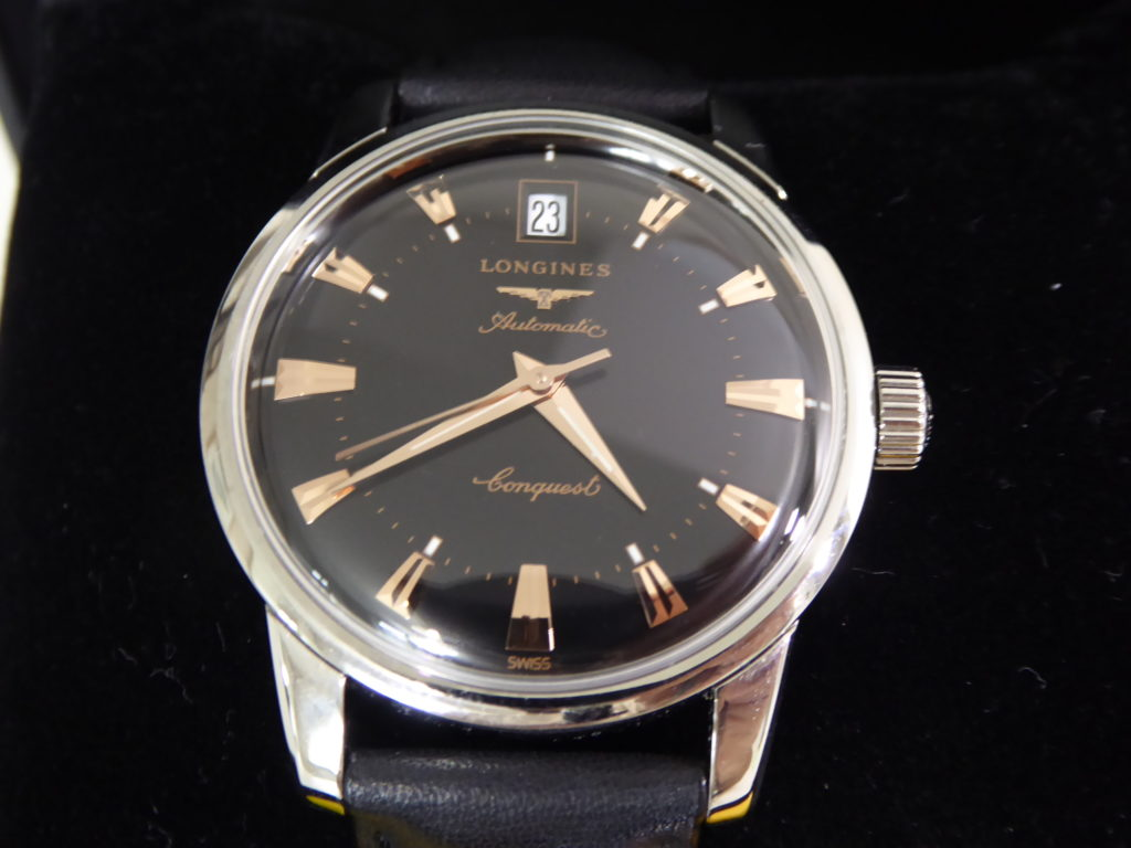 sell-used-Longines-conquest-heritage-watch