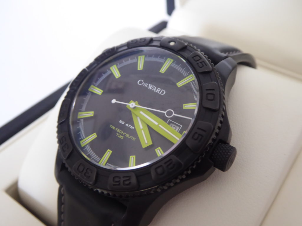 Christopher Ward C600 dive watch