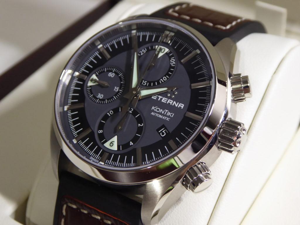 sell-used-Eterna-kontiki-chronograph-watch