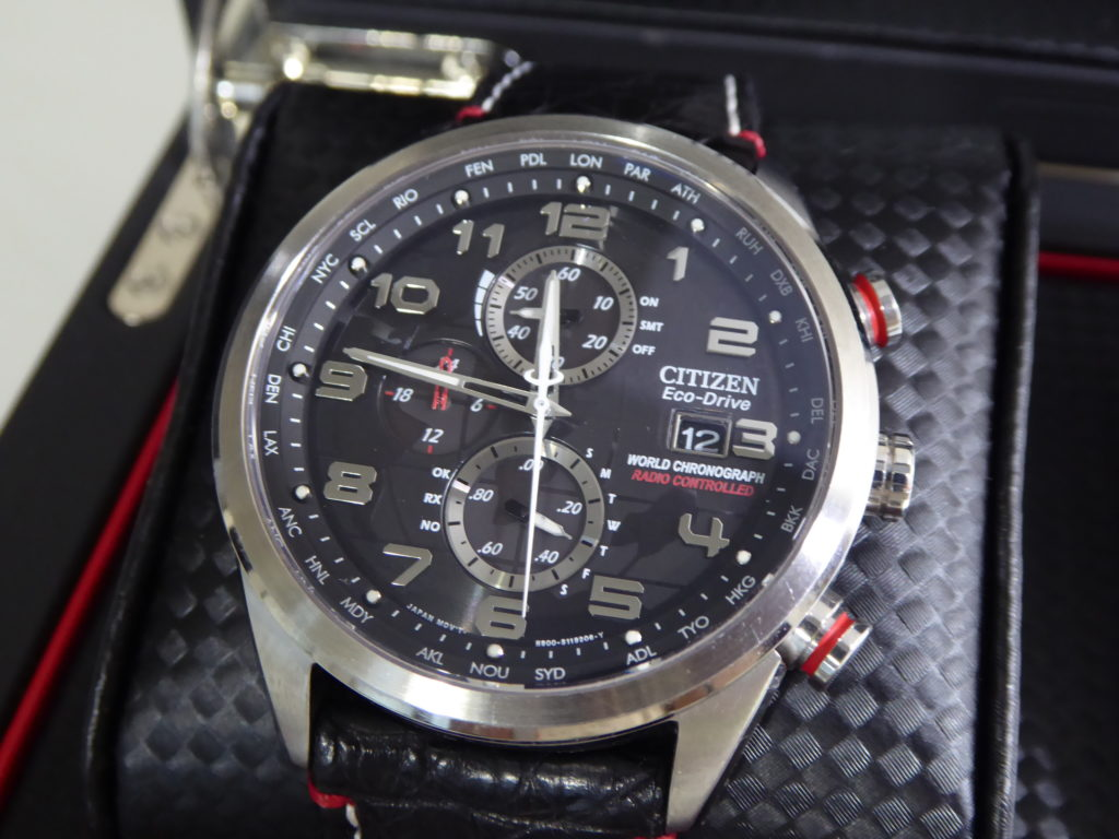 sell-used-Citizen-red-arrows-watch
