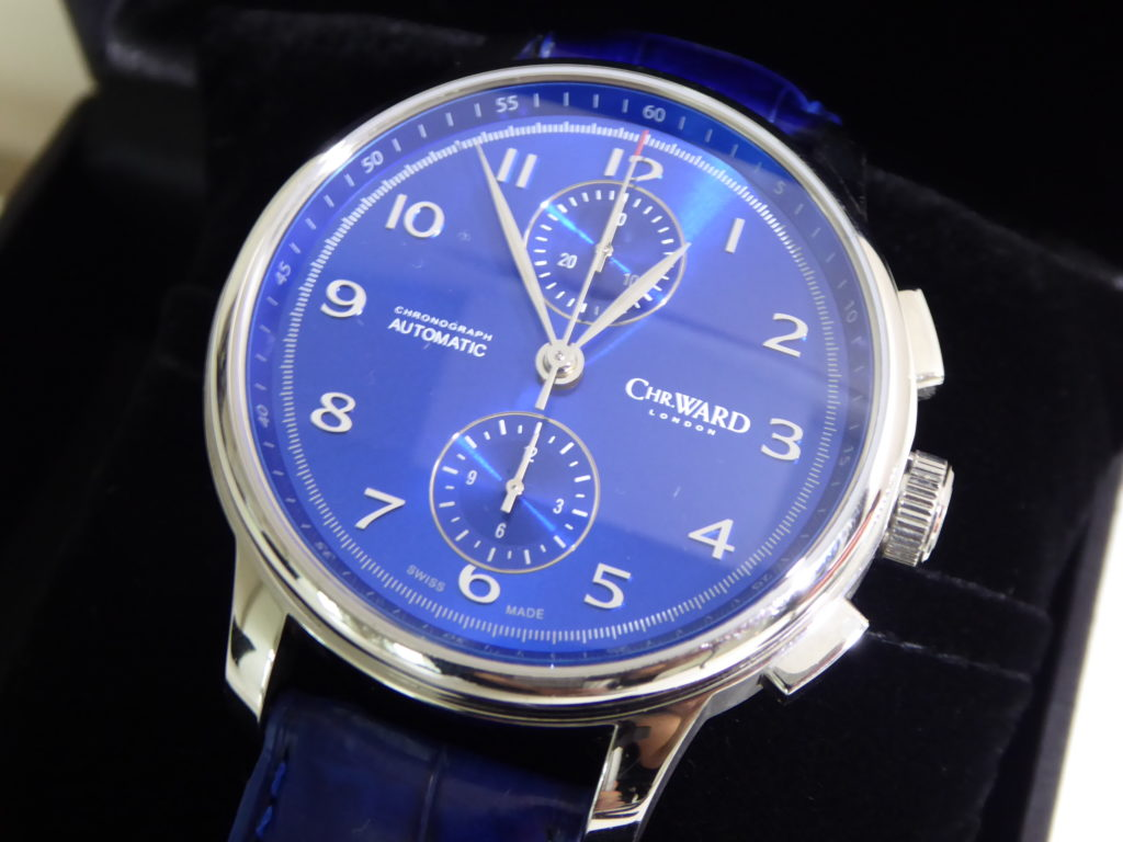 sell-used-christopher-ward-blue-c9-harrison-watch