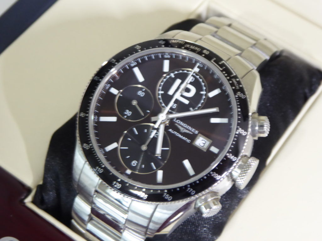 sell-used-Longines-grande-vitesse-Chronograph-watch