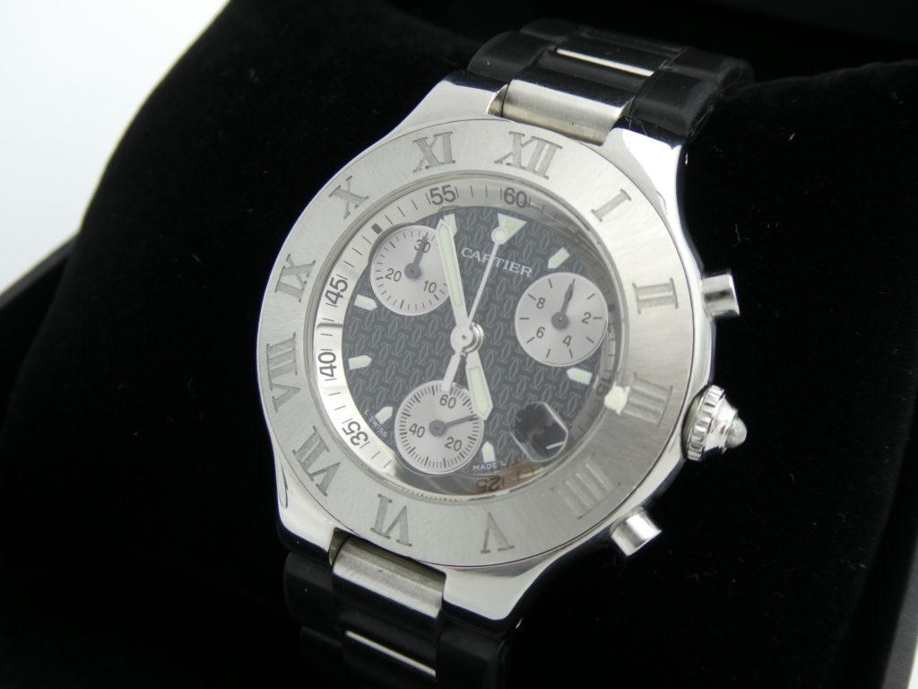 Cartier 2424 chronograph