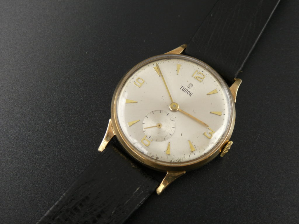 sell-used-Tudor-gold-watch