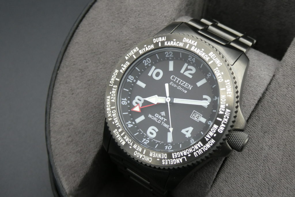 trade-used-citizen-world-time-watch