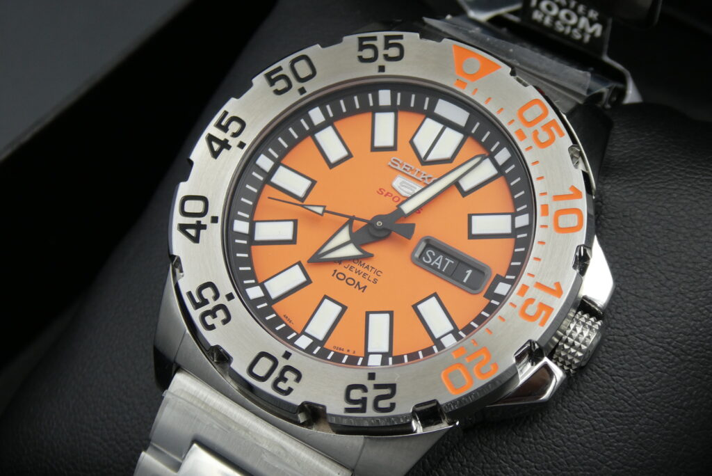 Seiko-Baby-Monster-Orange-watch