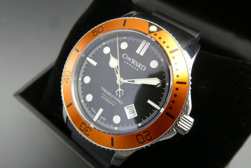 Christopher Ward C60 Orange