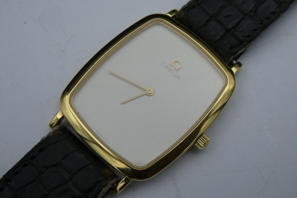 sell-used-omega-deville-gold-watch