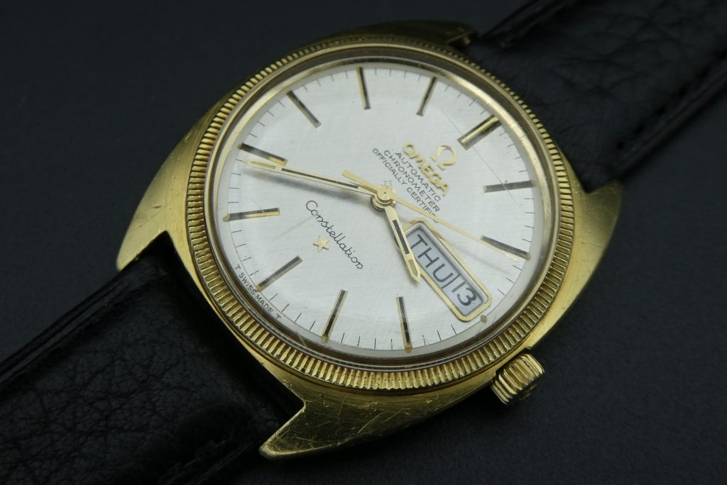 sell-omega-gold-watch