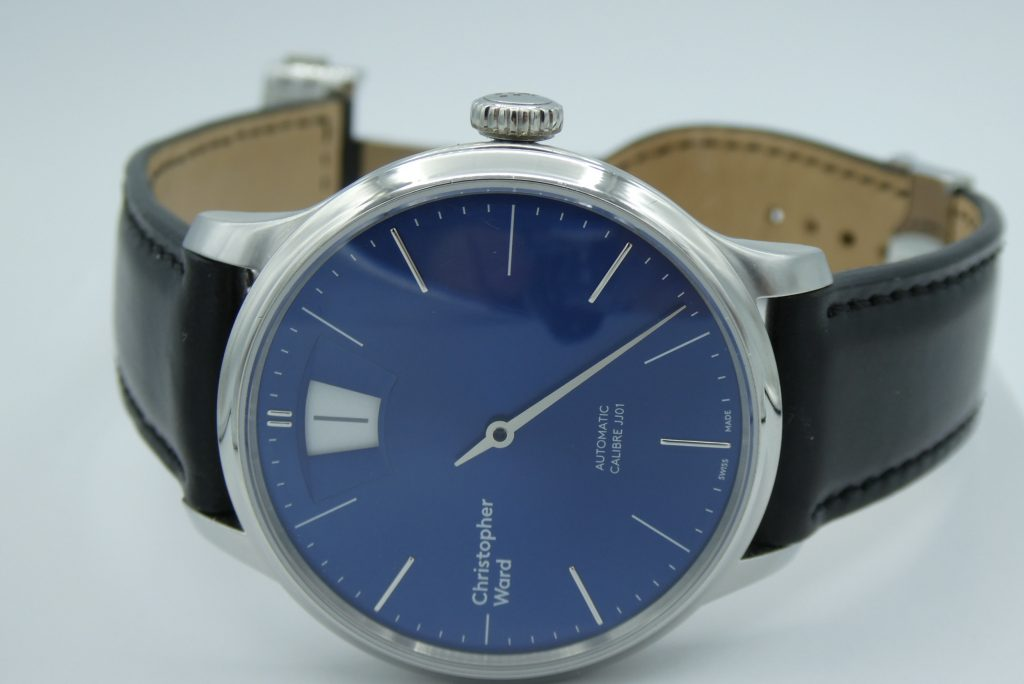 sell-used-christopher-ward-c1-jumping-hour-blue